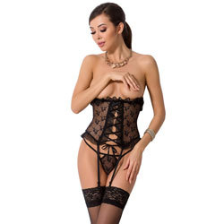Passion Justina Black Corset
